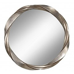 Marlin Silver Twist Mirror