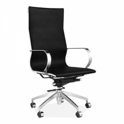 Hudson Office Chair High Back Black