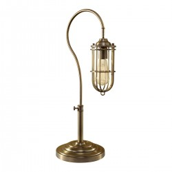 Bronx Urban Brass Table Lamp