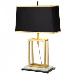 Mendon Modern Rectangular Table Lamp On