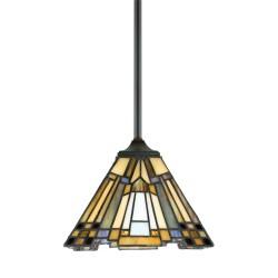 Syosset Tiffany Style Pendant Light Small