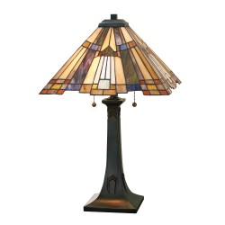 Syosset Tiffany Style Table Lamp