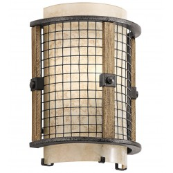 Eldred Mesh Wall Light