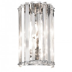 Purdys Crystal Style Bathroom Wall Light