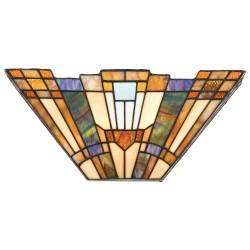 Syosset Tiffany Style Wall Light