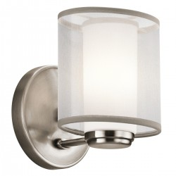 Tremont Pewter Wall Light