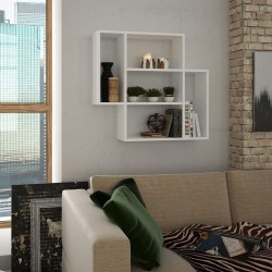 Myth Floating Wall Shelf White