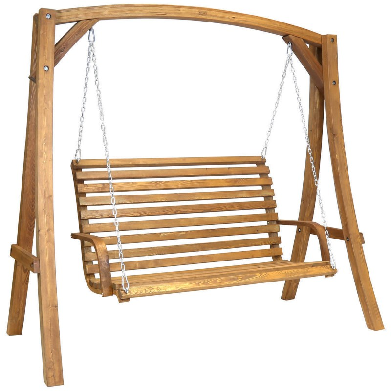 Cromer 2 3 Seater Wooden Swing Seat