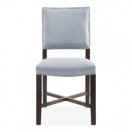 Della Dining Chair Grey Front view