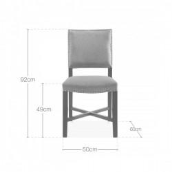 Della Dining Chair Dimensions