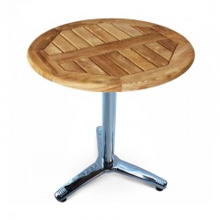 Pozo Small Teak/Aluminium Bistro Table