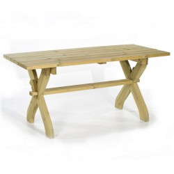 Folsom Pine Garden Table
