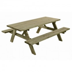 Meshaw 8 Seater GardenPicnic Table