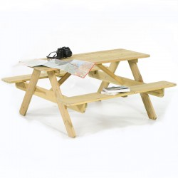 Ensis Classic 4 Seater Picnic Table