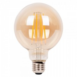 Edison Medium Globe Long LED Filament G95 Light Bulb