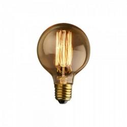 Edison Medium Round Globe Filament Bulb - G80