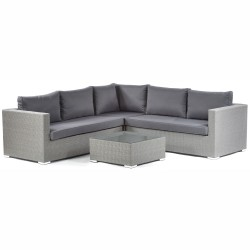 Lodi PE Rattan Corner Sofa Set