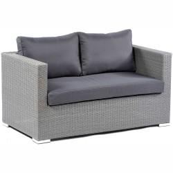 Lodi PE Rattan Two Seater Sofa