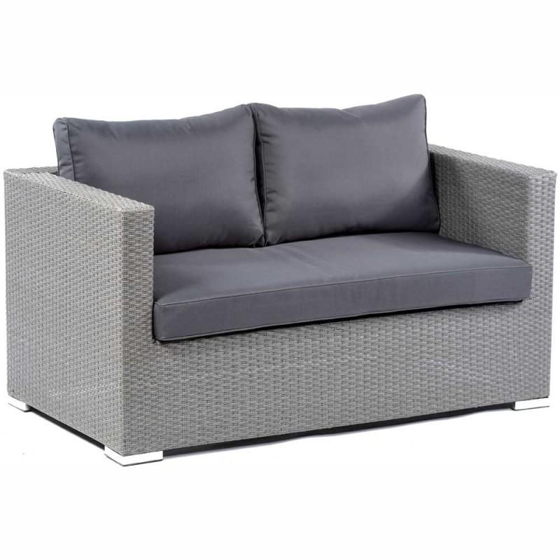 Pe Rattan Two Seater Sofa Lodi