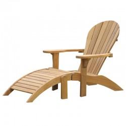 Cantil Teak Adirondack  Chair