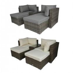 Mettler Multifunctional Modern Rattan Lounge Sets