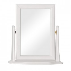 Tureby Mirror in white, white background