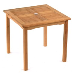 Ashbury Teak Square Garden Table