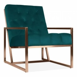 Boxsted Occasional Armchair in teal