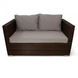 Daisie PE Rattan Garden 2 Seater Sofa