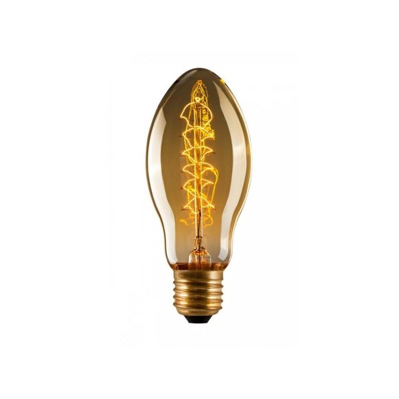 Edison  Tulip Spiral BT53 Filament Light Bulb