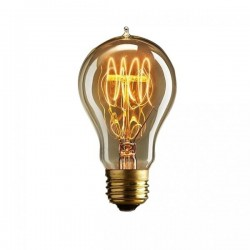 Edison A60 Quad Loop Filament Dimmable Light Bulb