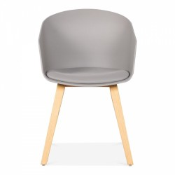 Grey chair front view