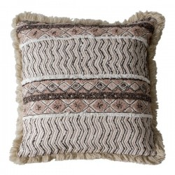 Deja Embroidered Cushion in natural