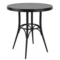 Aluminium vintage garden tables in Black