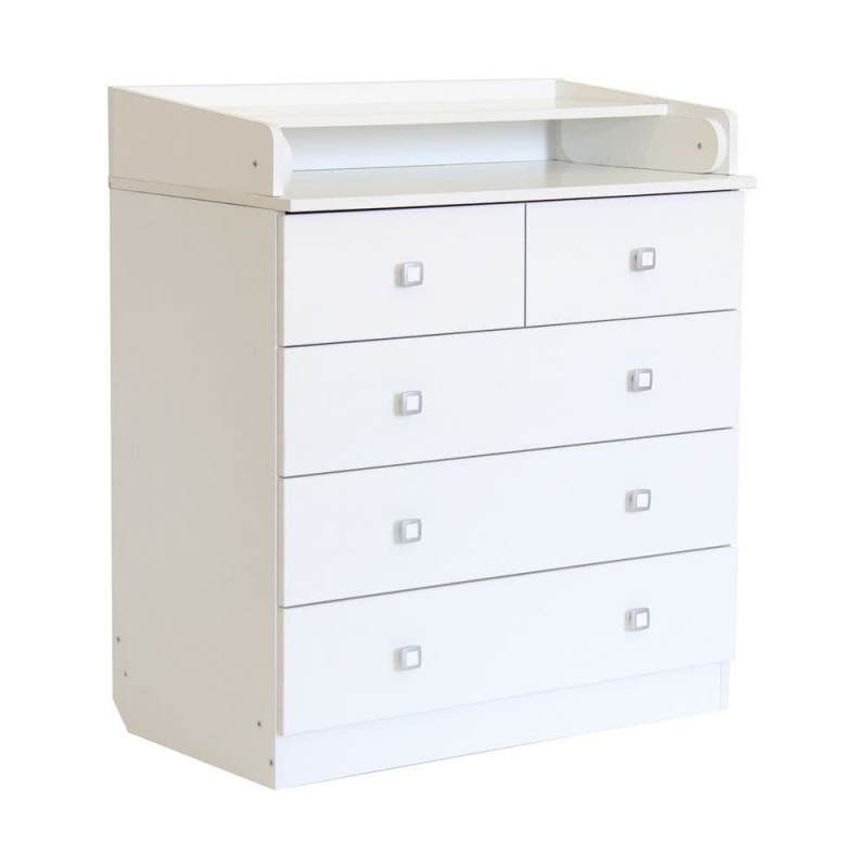 An image of Kidsaw Kudl Kids 5 Drawer Unit With Changing Board