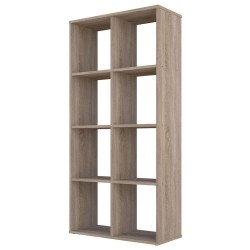 Kudl Home, Smart 8 Cubic Section Shelving Unit - Oak