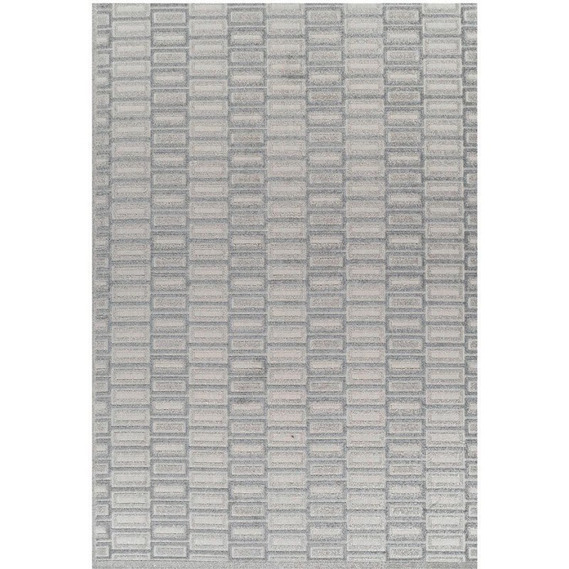 Pavia Geometric 181X Grey Rug