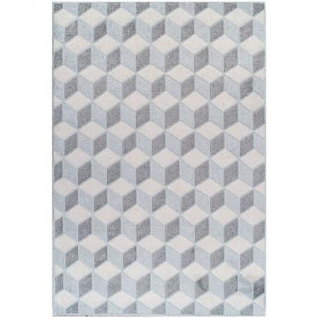 Pavia 3D Design 285Z Grey Rug