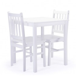 Putley Dining Set, white background