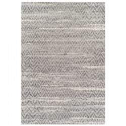 Topaz 522 Geometric Rug - Grey