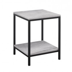 Aulden Lamp Table, angle view
