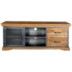Brompton Industrial TV Media Unit, front view