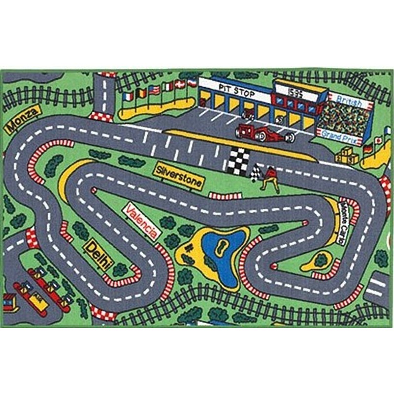 Race Track Top View