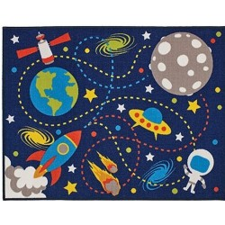Space Rug Top View