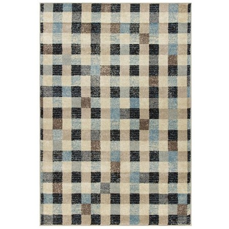 Square Patterned Rug Top View