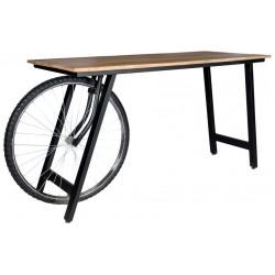 Pinden Craft Wheel Desk, front view
