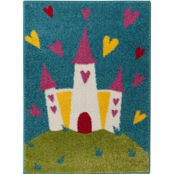 Polly Princess Castle Rug