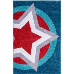 Star Hero Super shield Rug