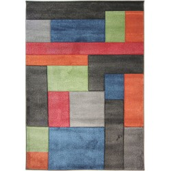 Alerta Hand Carved Cosmos Rugs - Multi