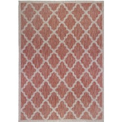 Florence Alfresco Padua Rugs Red & Beige